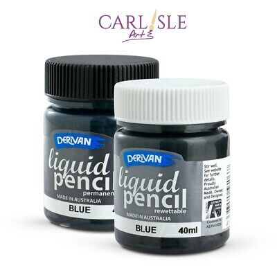 Derivan Liquid Pencil Permanent 40ml - Choose Your colour