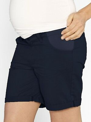 Casual Summer Cotton Shorts - Navy #901