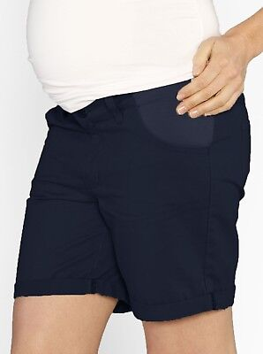 Casual Summer Cotton Shorts - Navy