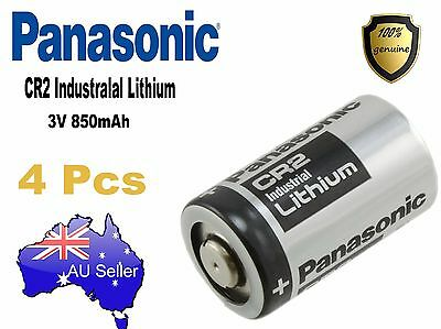 Genuine 4x Panasonic 3V CR2 Lithium Battery CR15H270 CR15270 15270 15266 DLCR2