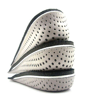 Unisex Insole Heel Lift Insert Shoe Pad Cushion Elevator Taller Height Increase