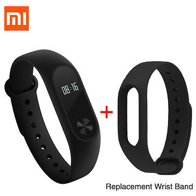 "Xiaomi 0.42"" OLED Touch Screen Mi Band 2 Smart Bracelet HR Heart Rate Monitor"