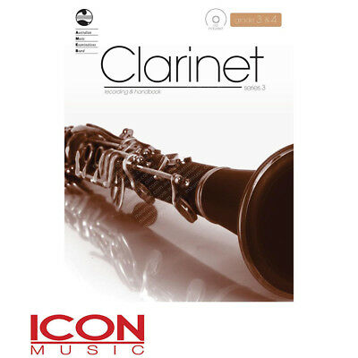 AMEB Clarinet Recording and Handbook with CD, Grade 3 & 4, Series 3