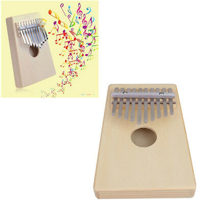 10 Key Finger Thumb Pocket Piano Kalimba Mbira Education Toy Instrument