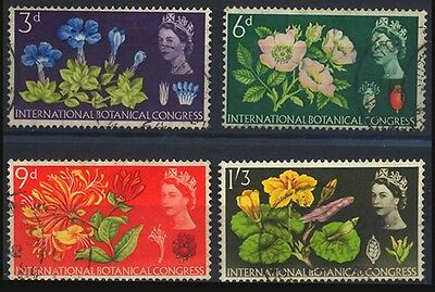 1964 Great Britain Botanical Congress Flower Used Stamp S46
