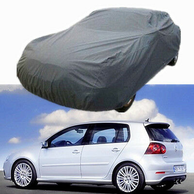 UK M Size Waterproof Layer Full Car Auto Cover Indoor Outdoor Dust UV Protection