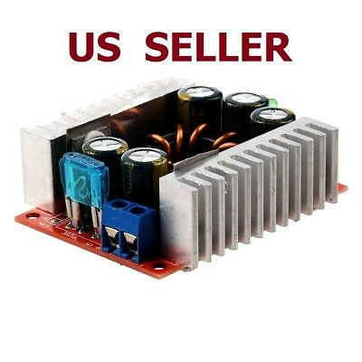 DC/DC 15A Buck Adjustable 4-32V 12V to 1.2-32V 5V Converter Step Down Module DT
