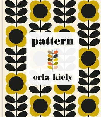 Pattern by Orla Kiely Hardcover Book Free Shipping!