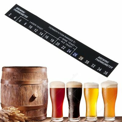 2℃-36℃ Digital Stick On Thermometer For Home Brew Beer Spirits Wine Temperature