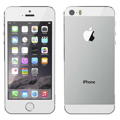 Apple iPhone 5s Mobile Phone 16GB/32GB SILVER GOLD GRAY Factory Unlocked 4.0""