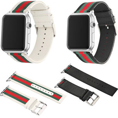 Canvas Sport Band Replacement Wrist Strap Bracelet For iWatch Apple Watch 2&1