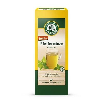 (6,63 €/ 100 g) Lebensbaum Peppermint Herbal Tea Bio 20 x 1,5g