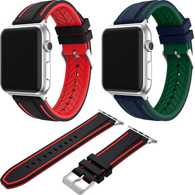 Wrist Leather Strap Band for Space 38/42mm Apple Watch i Watch Series 1 & 2