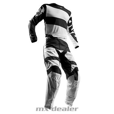 Thor Pulse Level 2018 schwarz Hose Jersey Trikot mx motocross Cross Combo Kombi