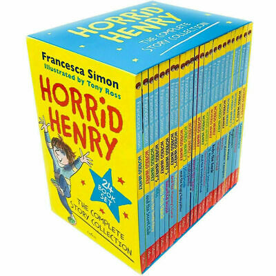 Horrid Henry The Complete Story Collection Francesca Simon 20 Books Box Set NEW