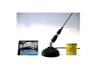 CB Antenna Sirio Mini Snake 27 Magnetic Base for CB Radio President TTI Midland