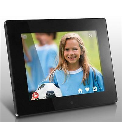 """8"""" WiFi Cloud Digital Photo Frame with Touchscreen IPS LCD Display 8GB Built-in"""