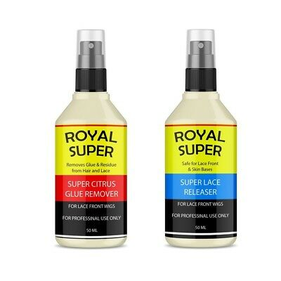 Royal Super Citrus Glue Remover&Lace Release Remover/Dissolver Solvent Kit 50ml