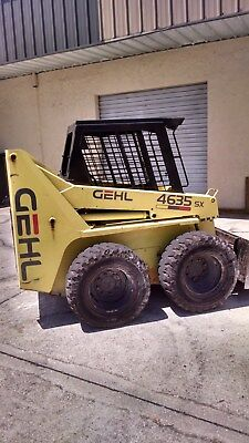 Gehl 4635 Skidsteer with video