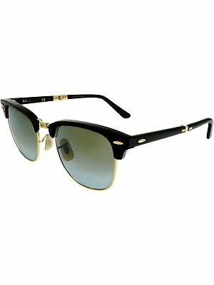 babfd175aa Ray-Ban Gradient Clubmaster Folding RB2176-901S9J-51 Black Sunglasses