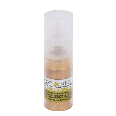 Roxy & Rich Highlighter Sparkle Dust Pump Gold 4 grams   Cake   Cookie