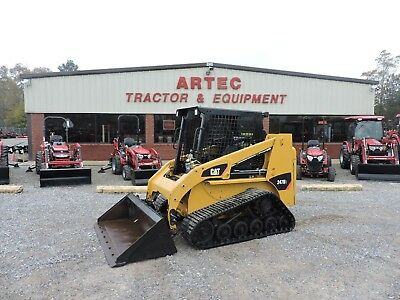 2014 Caterpillar 247B3 Skid Steer Loader - Bobcat - Multi Terrain - Nice Machine