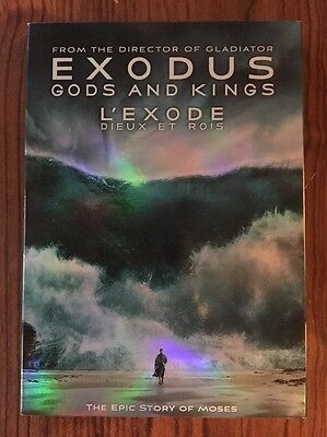 Exodus: Gods and Kings (DVD, 2015, Canadian)