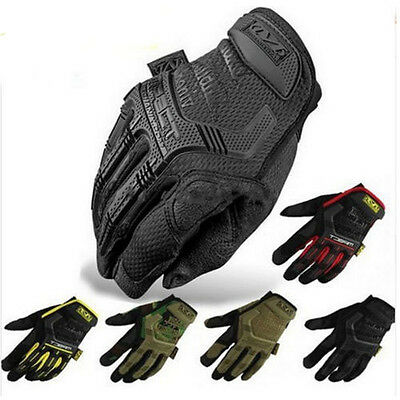 Motorcycle Full Finger Gloves M-pact Army Military Tactical Outdoor Wear Gloves