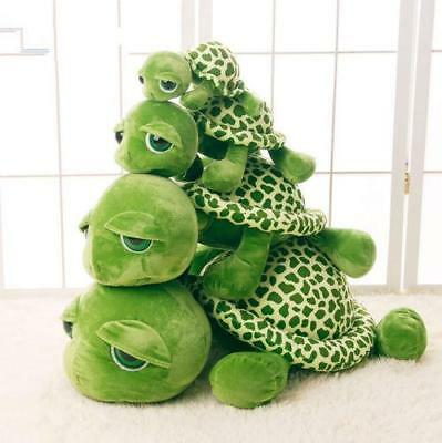 10-32inches Green Turtle Doll Pillow Plush Giant Large Stuffed Soft Plush Toy