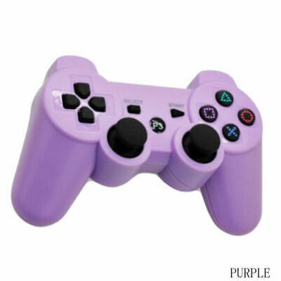 3rd Party Purple Wireless Gamepad Controller for PS3 Playstation 3 Console