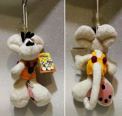 """Diddl Ventosa Suction Cup Peluche 15 Cm 5,9"""" Tutina Gialla"""