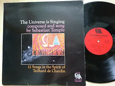 THE UNIVERSE IS SINGING 12 Songs in the Spirit of Teilhard de Chardin *VINYL LP*