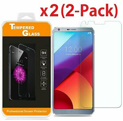 2-PACK Ultra-Thin Premium Tempered Glass Screen Protector for LG G6