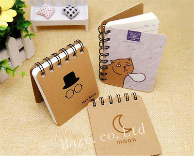 1pc Cute Portable Notepad Handy Pocket Memo Small Notebook Office Supplies