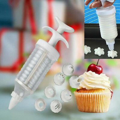 Icing Syringe Biscuit Decorator Making Tool Cupcake Churros Cookie Cake Maker