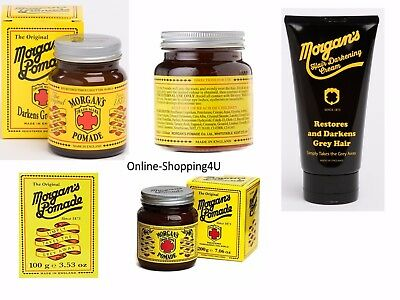 The Original Morgan's Hair Dye Pomade/Morgan's Hair Darkening Control Cream Tube
