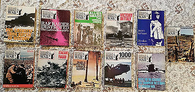 """Vintage Magazines """"History of the Second World War"""" 74 Issue Lot"""