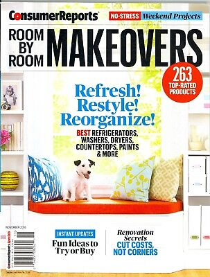 Consumer Reports Room By Room Makeovers November 2016