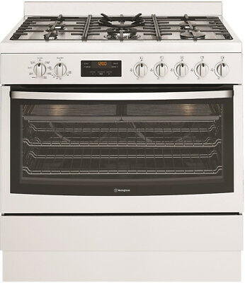 New Westinghouse - WFE914SB - 90cm Duel Fuel Freestanding Cooker from Bing Lee