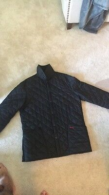 Mens Barbour Jacket Size Large