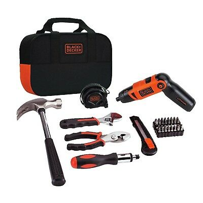 BLACK + DECKER LI2000PK Lithium Screwdriver and Project Kit