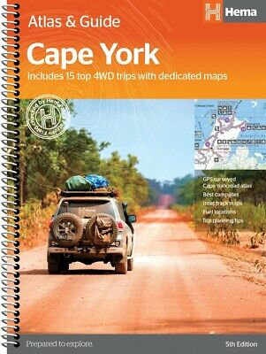 Hema Maps - Cape York Atlas & Guide - 4Th Edition - Top 15 4Wd Tracks - Detailed