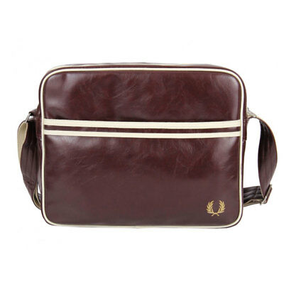 Fred Perry Classic Unisex Bags Maroon