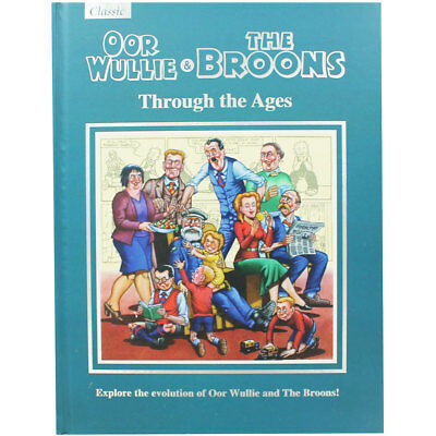 Oor Wullie and The Broons Through The Ages 2018 Gift Book, Children's Books, New