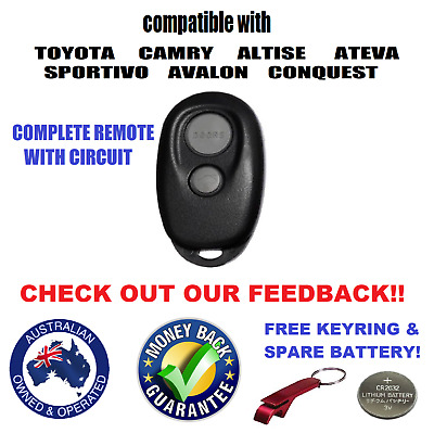 Toyota Camry Altise Ateva Sportivo Avalon Conquest Remote Keyless Entry Fob