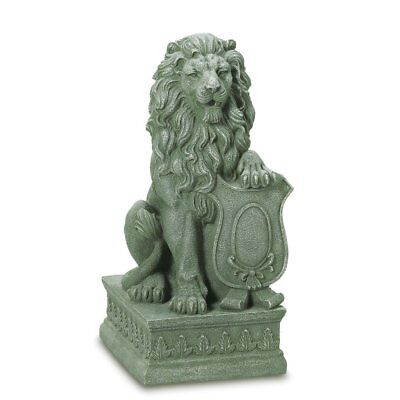 Lion Statue Large, Guardian Lions Statues For Garden Decor - Poly Resin