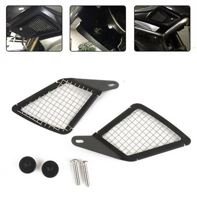 Air Intake Grill Guard Cover Protector For BMW R1200GS LC 2013- 2016 Black