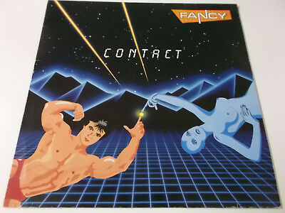 39318 - Fancy - Contact - 1986 Vinyl Lp Made In Germany (831 201-1)