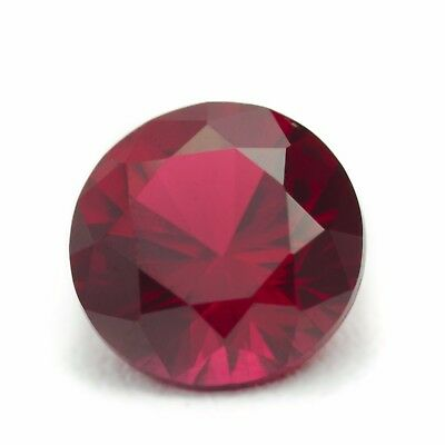 1.81ct Recrystalized Ruby (Czochralski) Lab Created Loose Cutstone