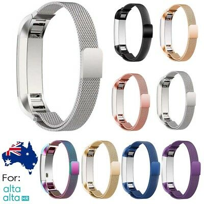 Stainless Steel Replacement Spare Band Strap for Fitbit Alta / Alta HR